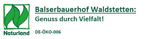 Balserbauer  Waldstetten